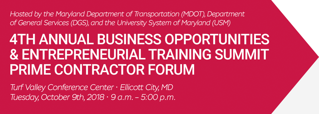 Prime Contractors | 5th Annual Maryland Business